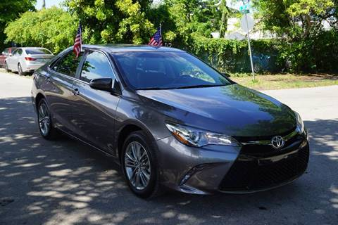 2016 Toyota Camry for sale at SUPER DEAL MOTORS in Hollywood FL