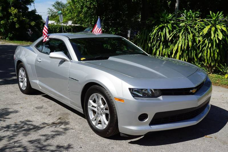 2014 CHEVROLET CAMARO LS 2DR COUPE W1LS silver  call 866-378-7964 for sales  this 2014 che