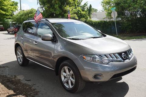 2009 Nissan Murano for sale at SUPER DEAL MOTORS in Hollywood FL