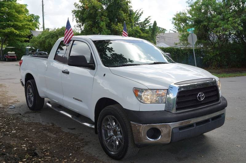 2008 TOYOTA TUNDRA GRADE 4X2 4DR DOUBLE CAB SB40L white  call 866-378-7964 for sales  thi