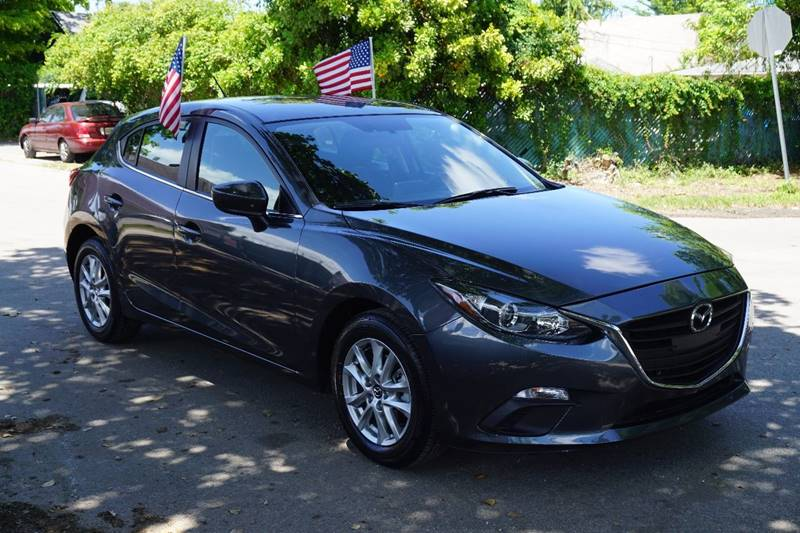 2016 MAZDA MAZDA3 I SPORT 4DR HATCHBACK 6A gray  call 866-378-7964 for sales  this 2016 maz
