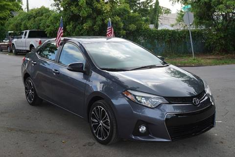 2014 Toyota Corolla for sale at SUPER DEAL MOTORS in Hollywood FL