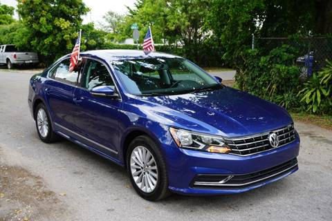 2016 Volkswagen Passat for sale at SUPER DEAL MOTORS in Hollywood FL