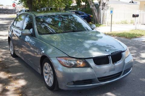 2007 BMW 3 Series for sale at SUPER DEAL MOTORS in Hollywood FL