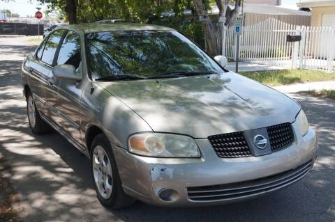 2005 Nissan Sentra for sale at SUPER DEAL MOTORS in Hollywood FL