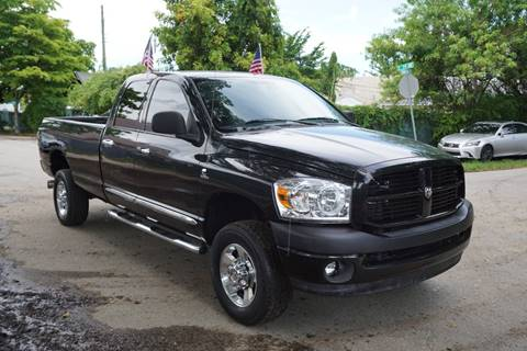 2007 Dodge Ram Pickup 2500 for sale at SUPER DEAL MOTORS in Hollywood FL