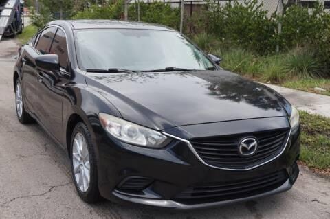 2016 Mazda MAZDA6 for sale at SUPER DEAL MOTORS in Hollywood FL