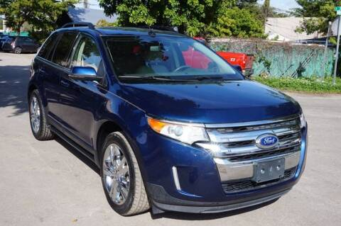 2012 Ford Edge for sale at SUPER DEAL MOTORS in Hollywood FL