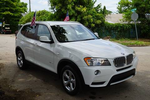 2011 BMW X3 for sale at SUPER DEAL MOTORS in Hollywood FL