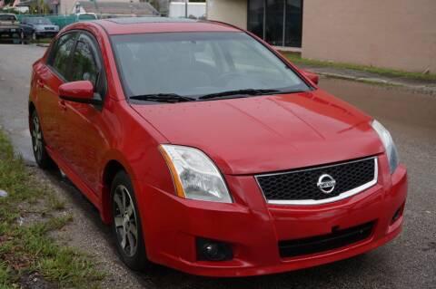 2012 Nissan Sentra for sale at SUPER DEAL MOTORS in Hollywood FL