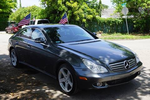 2008 Mercedes-Benz CLS for sale at SUPER DEAL MOTORS in Hollywood FL