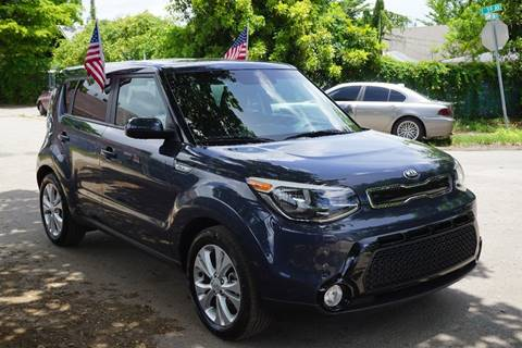 2016 Kia Soul for sale at SUPER DEAL MOTORS in Hollywood FL