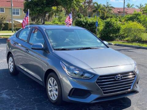 2020 Hyundai Accent for sale at SUPER DEAL MOTORS 441 in Hollywood FL