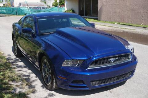 2014 Ford Mustang for sale at SUPER DEAL MOTORS 441 in Hollywood FL