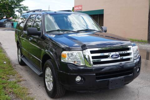 2013 Ford Expedition EL for sale at SUPER DEAL MOTORS 441 in Hollywood FL