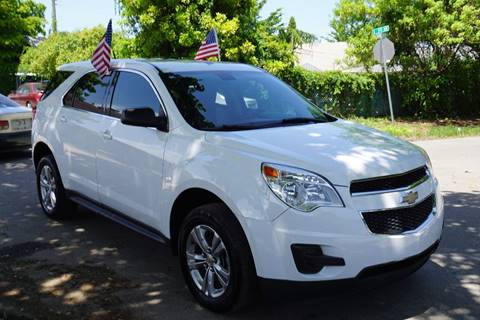 2011 Chevrolet Equinox for sale at SUPER DEAL MOTORS in Hollywood FL