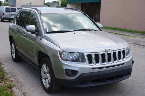 2016 Jeep Compass for sale at SUPER DEAL MOTORS in Hollywood FL