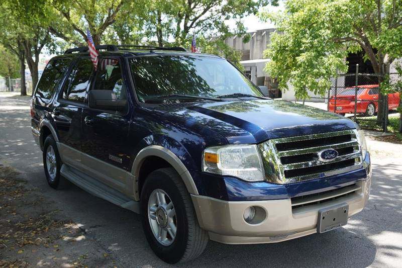 2007 FORD EXPEDITION EDDIE BAUER 4X2 4DR SUV blue  call 866-378-7964 for sales  this 2007 f
