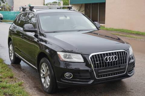 2013 Audi Q5 for sale at SUPER DEAL MOTORS in Hollywood FL