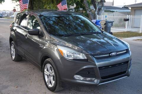 2015 Ford Escape for sale at SUPER DEAL MOTORS 441 in Hollywood FL