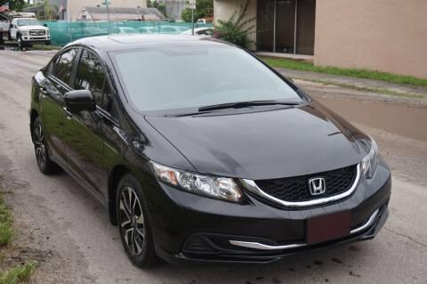 2014 Honda Civic for sale at SUPER DEAL MOTORS 441 in Hollywood FL