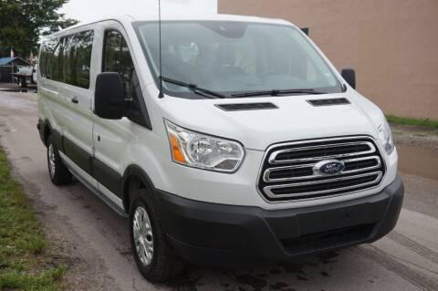 2019 Ford Transit Passenger for sale at SUPER DEAL MOTORS 441 in Hollywood FL