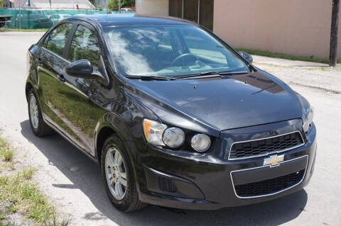 2015 Chevrolet Sonic for sale at SUPER DEAL MOTORS in Hollywood FL
