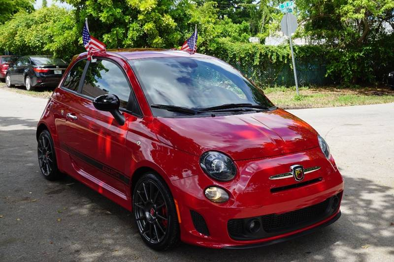 2015 FIAT 500 ABARTH 2DR HATCHBACK red  call 866-378-7964 for sales  this 2015 fiat 500 aba
