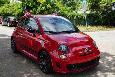2015 FIAT 500 for sale at SUPER DEAL MOTORS in Hollywood FL