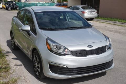 2016 Kia Rio for sale at SUPER DEAL MOTORS in Hollywood FL