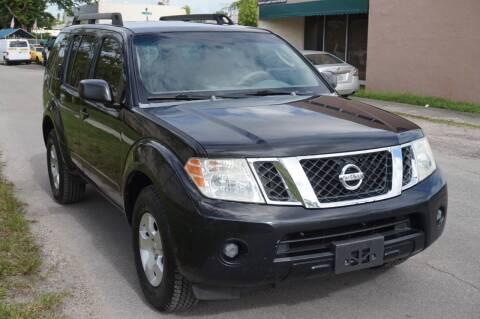 2008 Nissan Pathfinder for sale at SUPER DEAL MOTORS in Hollywood FL