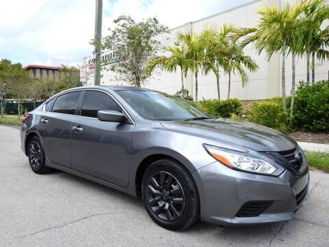 2016 Nissan Altima for sale at SUPER DEAL MOTORS 441 in Hollywood FL