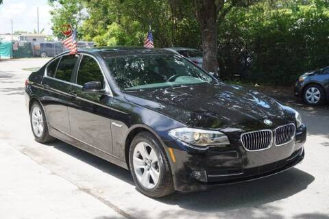 2011 BMW 5 Series for sale at SUPER DEAL MOTORS in Hollywood FL