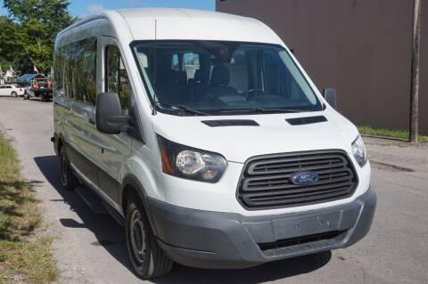 2016 Ford Transit Passenger for sale at SUPER DEAL MOTORS in Hollywood FL