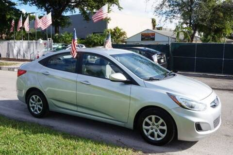 2016 Hyundai Accent for sale at SUPER DEAL MOTORS 441 in Hollywood FL