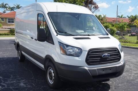 2019 Ford Transit Cargo for sale at SUPER DEAL MOTORS 441 in Hollywood FL
