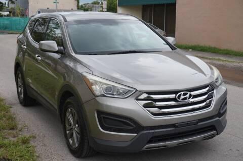 2014 Hyundai Santa Fe Sport for sale at SUPER DEAL MOTORS 441 in Hollywood FL