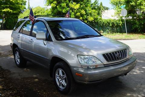 2003 Lexus RX 300 for sale at SUPER DEAL MOTORS in Hollywood FL