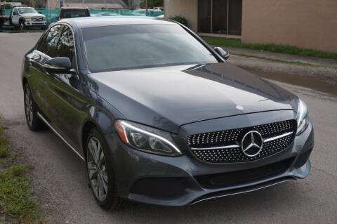 2015 Mercedes-Benz C-Class for sale at SUPER DEAL MOTORS 441 in Hollywood FL