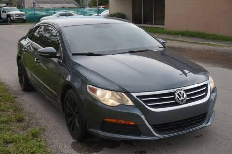 2012 Volkswagen CC for sale at SUPER DEAL MOTORS 441 in Hollywood FL