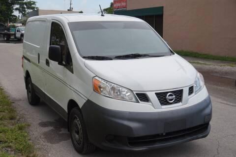 2014 Nissan NV200 for sale at SUPER DEAL MOTORS 441 in Hollywood FL