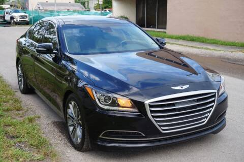2015 Hyundai Genesis for sale at SUPER DEAL MOTORS 441 in Hollywood FL