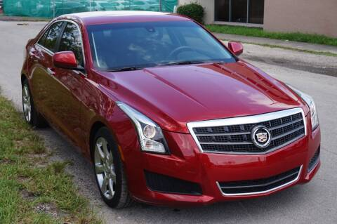 2013 Cadillac ATS for sale at SUPER DEAL MOTORS in Hollywood FL