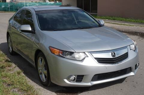2012 Acura TSX for sale at SUPER DEAL MOTORS 441 in Hollywood FL