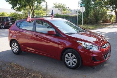 2016 Hyundai Accent for sale at SUPER DEAL MOTORS in Hollywood FL