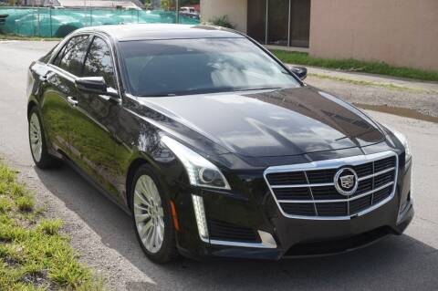 2014 Cadillac CTS for sale at SUPER DEAL MOTORS in Hollywood FL