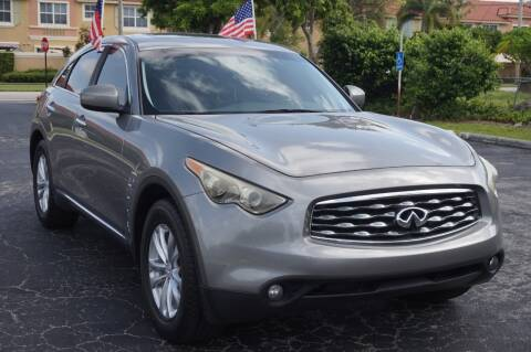 2011 Infiniti FX35 for sale at SUPER DEAL MOTORS 441 in Hollywood FL