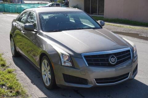 2014 Cadillac ATS for sale at SUPER DEAL MOTORS 441 in Hollywood FL