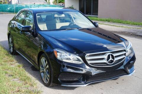 2014 Mercedes-Benz E-Class for sale at SUPER DEAL MOTORS in Hollywood FL