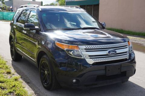 2015 Ford Explorer for sale at SUPER DEAL MOTORS 441 in Hollywood FL